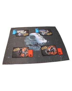 Set di tovaglia, centrini e tovaglioli della Morte Nera- Star Wars