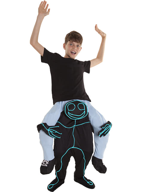 Disfraz de garabato Ride On infantil