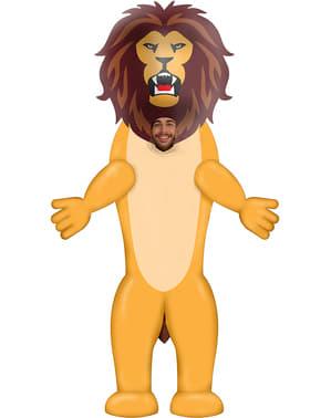 वयस्कों के लिए Inflatable शेर पोशाक