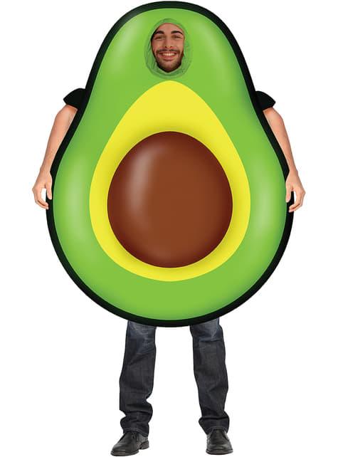 Napuhani kostim avokada za odrasle