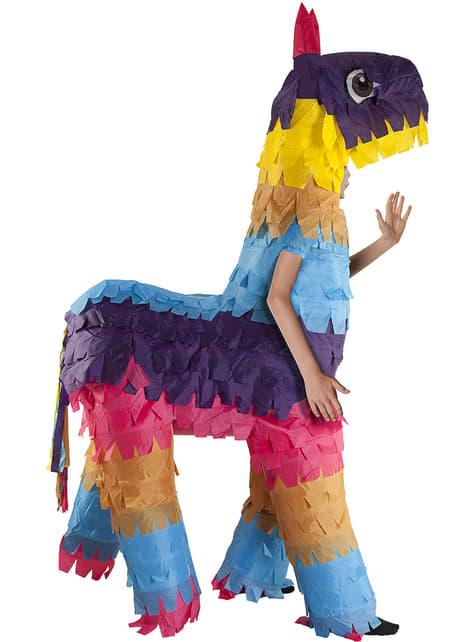 Disfraz de piñata de llama hinchable infantil