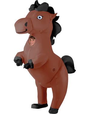 Puhallettava hevosasu lapsille