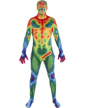 Disfraz de mapa de calor Morphsuit