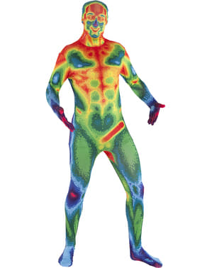 Isı haritası Morphsuit kostüm