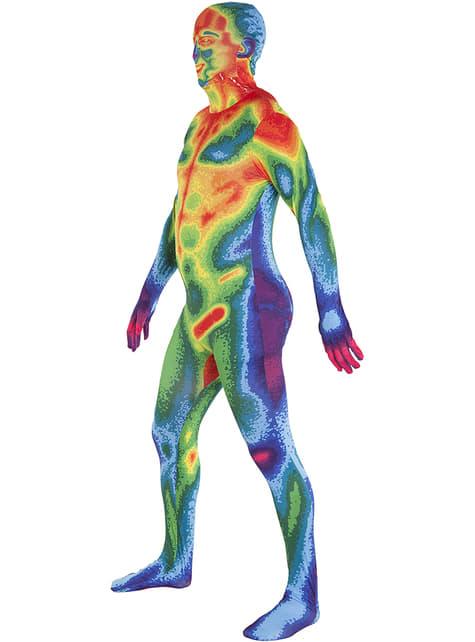 Disfraz de mapa de calor Morphsuit - original