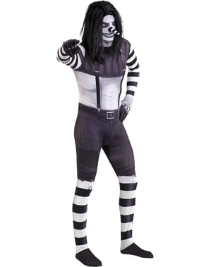 Laughing Jack Morphsuit kostuum
