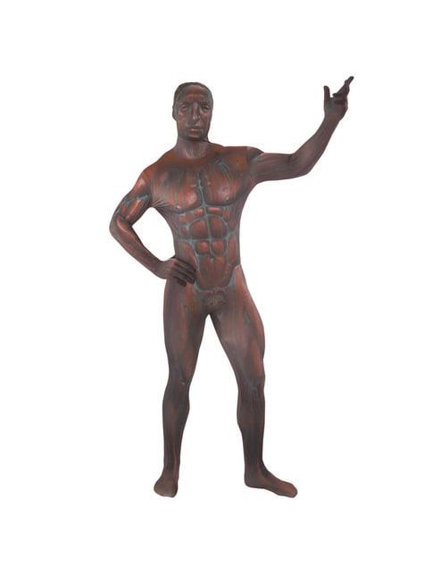 Disfraz de estatua de bronce Morphsuit