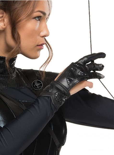 Guante de Katniss Everdenn Los Juegos del Hambre Sinsajo para mujer