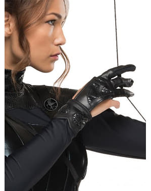 משחקי רעב Everdeen Katniss נשים: כפפת עורבני חקיין