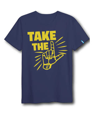T-shirt Dab Dance blu per adulto - Fortnite
