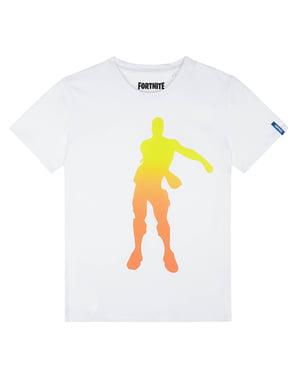 Kaos Tarian Putih Fortnite untuk Anak