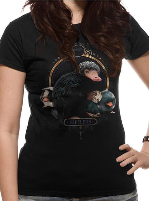 Camiseta de Niffler para mujer - Animales Fantásticos