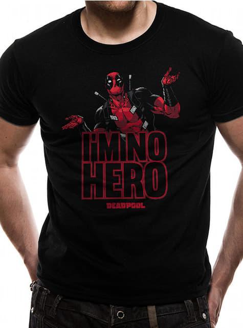 Camiseta de Deadpool I'm No Hero para hombre