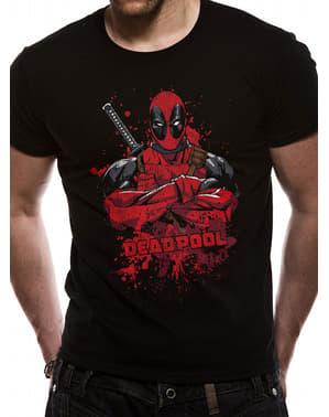Deadpool Pose Slash T-Shirt for Men