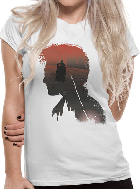 Harry Potter Hogwarts Battle T-Shirt for Women