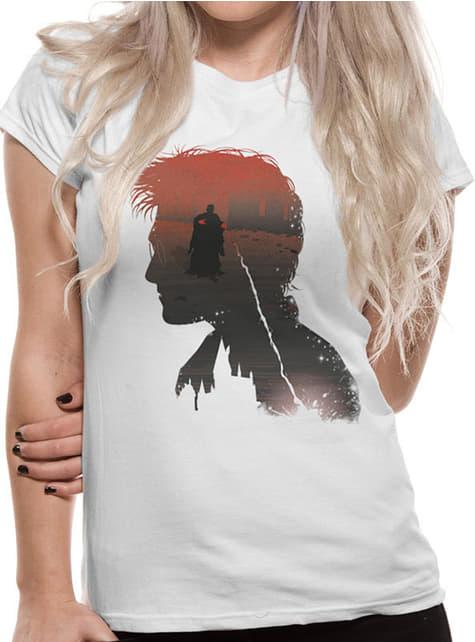 T-shirt de Harry Potter Hogwarts Battle para mulher