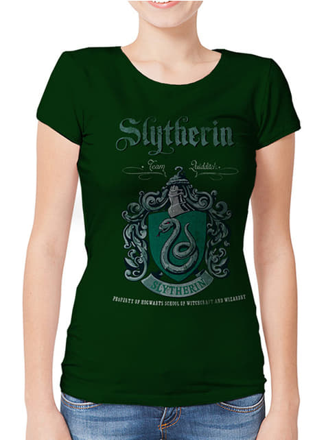 Slytherin Team Quidditch T-Shirt for Women - Harry Potter