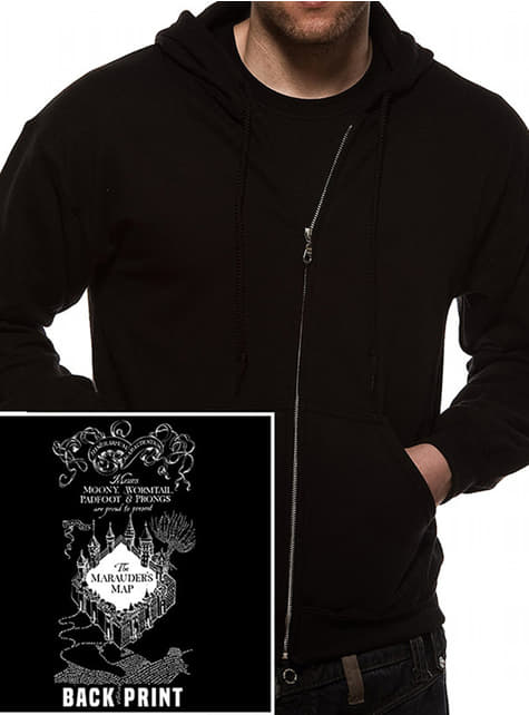 Marauder's Map Hoodie for Adults - Harry Potter
