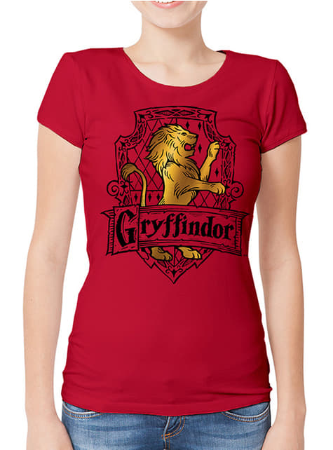 Maroon Gryffindor T-Shirt for Women - Harry Potter