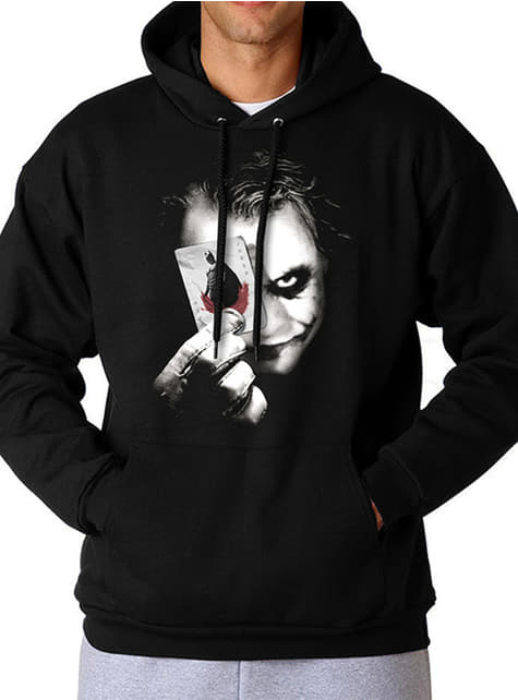Joker Why So Serious Hoodie for Adults - The Dark Knight
