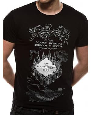 Kaos Peta Black Marauder untuk Pria - Harry Potter
