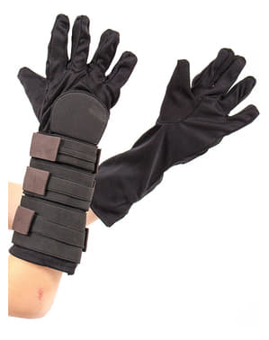 Anakin Skywalker gloves for a boy