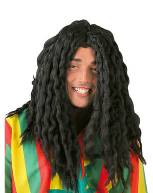 Perruque rastafari jamaïcain noir