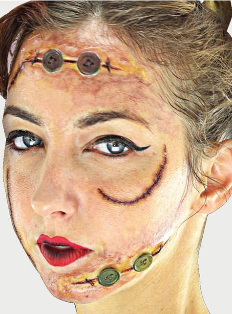 Terrifying Zombie Makeup Set