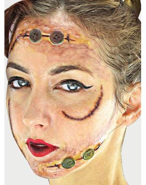 Set de maquillaje de zombie terrorífico