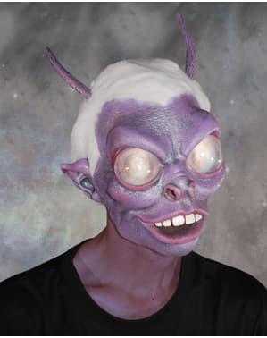 Máscara de alien malvado para homem