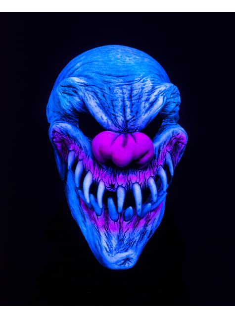 Máscara de palhaço Last Laugh UV para homem