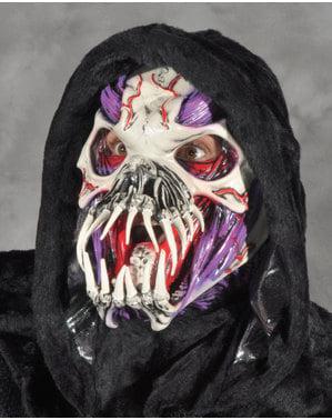 Máscara de monstro alienígena para homem