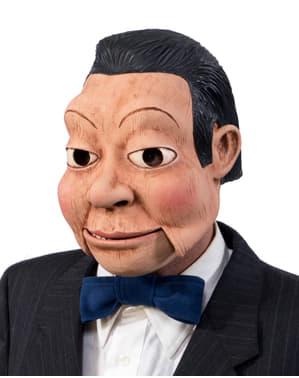 Máscara de boneco ventríloquo para homem