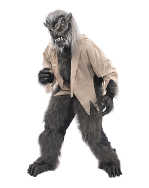 Престижен костюм на върколак за възрастни