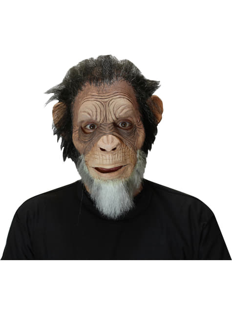Old Chimp Mask for Adults