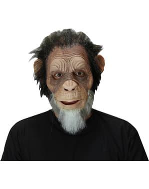 Oude Chimpansee masker voor mannen