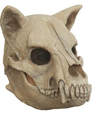 Yetişkinler İçin Köpek Kafatası Maskesi