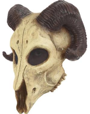Máscara de cabra del infierno para adulto