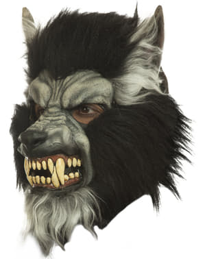 Hungry Werewolf Mask for Adults