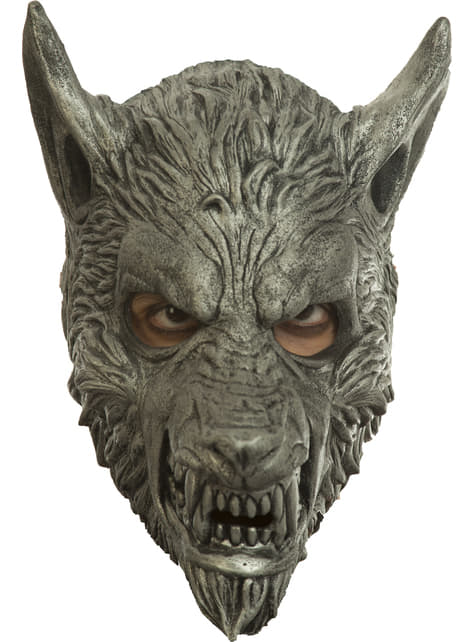 Silver Werewolf Mask for Adults