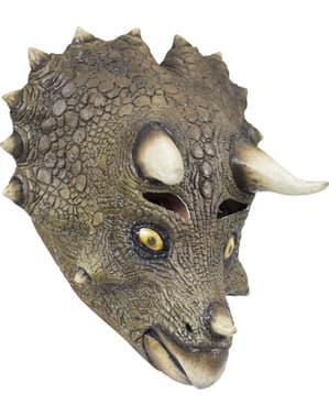 Máscara de Triceratops para adulto
