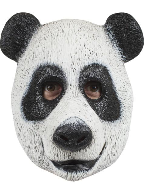 Máscara de oso panda agradable para adulto
