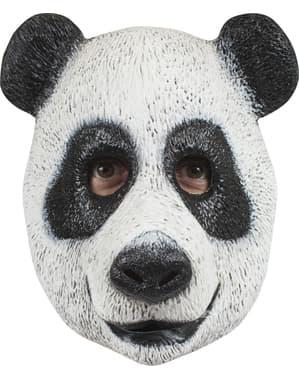 Máscara de urso panda agradável para adulto