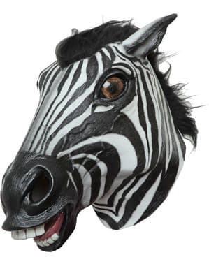 Zebra Mask for Adults