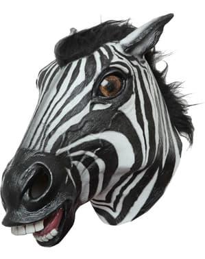 Zebra Maske für Erwachsene