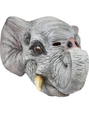Máscara de elefante para adulto