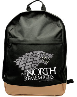 Czarny plecak Stark Gra o Tron