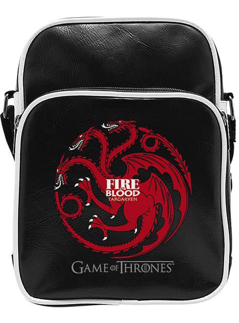 Small Black Targaryen Shoulder Bag