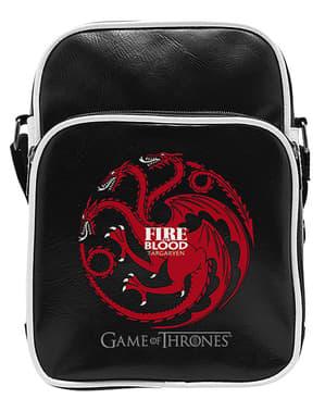 Mała czarna torba na ramię Targaryen