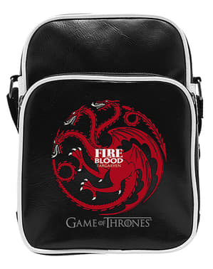 Mala a tiracolo pequena Targaryen em preto